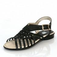 Дамски ежедневни сандали в черно