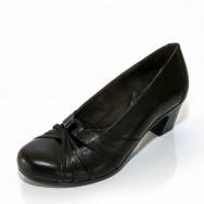 Дамски елегантни обувки с ленти