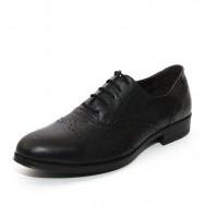 Мъжки официални обувки с швейцарски мотив